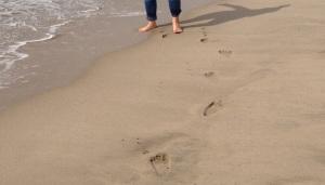 profile pic talking footprints