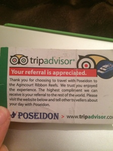 Tripadvisor card from Poseidon